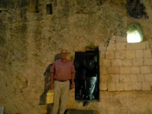 I went back at evening. The Empty Tomb is something I never want to forget!